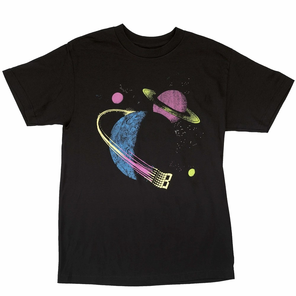 Glow Galaxy T-Shirt (Black)