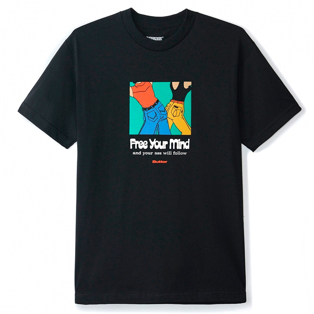 Free Your Mind T-Shirt (Black)