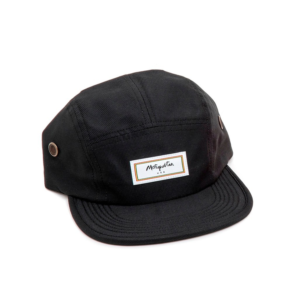 Woven Label Volley (Black)