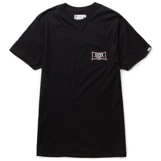 Vans JT Surf Club Pocket T-Shirt (Black / Black) VBU