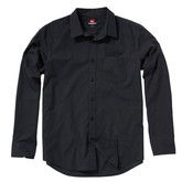 Mens Fresh Breather L/S Shirt - Black