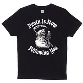 HUF Death Is Following You s/s T-shirt - Black