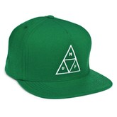 HUF Triple Triangle Snapback Hat - Kelly