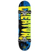 Stained Blue Mini SK8 Complete