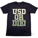 T-shirt USD OR DIE