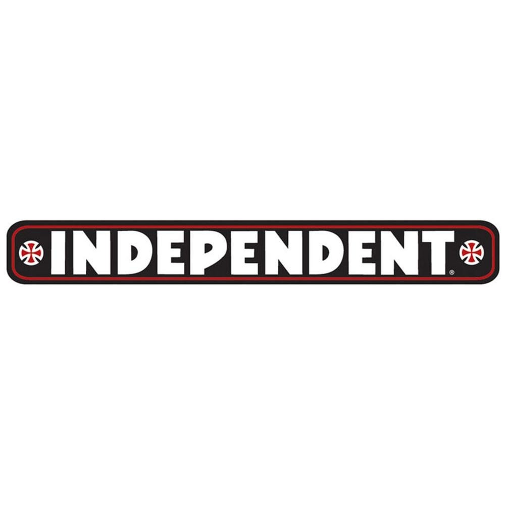 Independent Bar Decal Black
