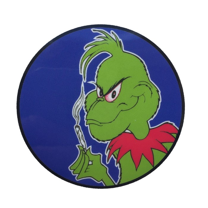 Grinch Pusher Sticker Numbered