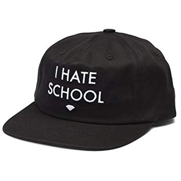 I Hate School Unstructured Snapback