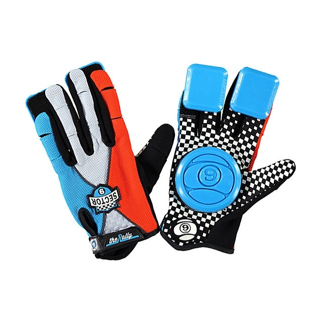 Rally Youth Gloves Blue