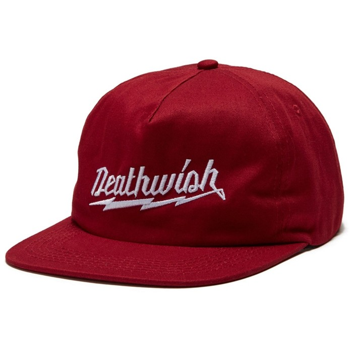 Short Circuit Burgundy Snapback