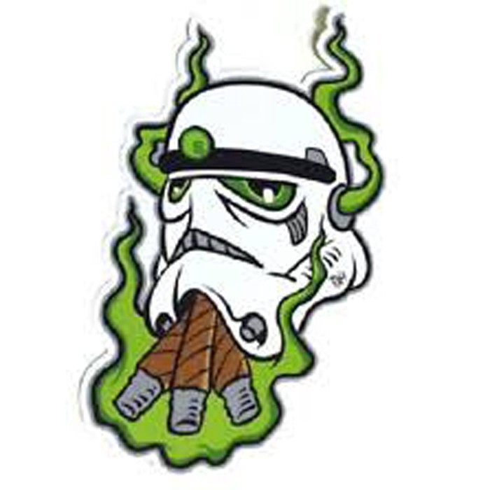 Stoned Trooper Pin