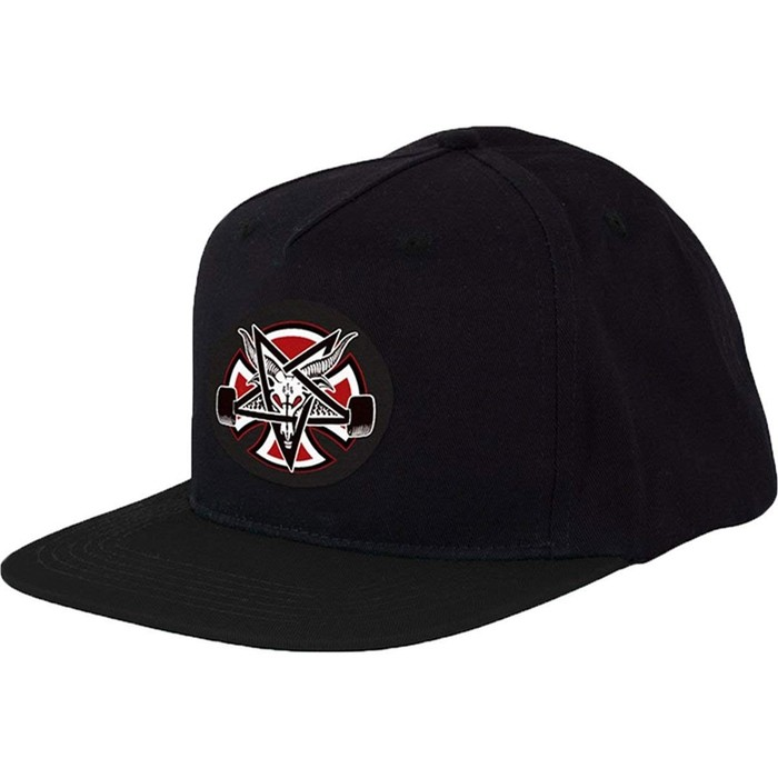 eeb7c69d Thrasher Pentagram Cross Snapback