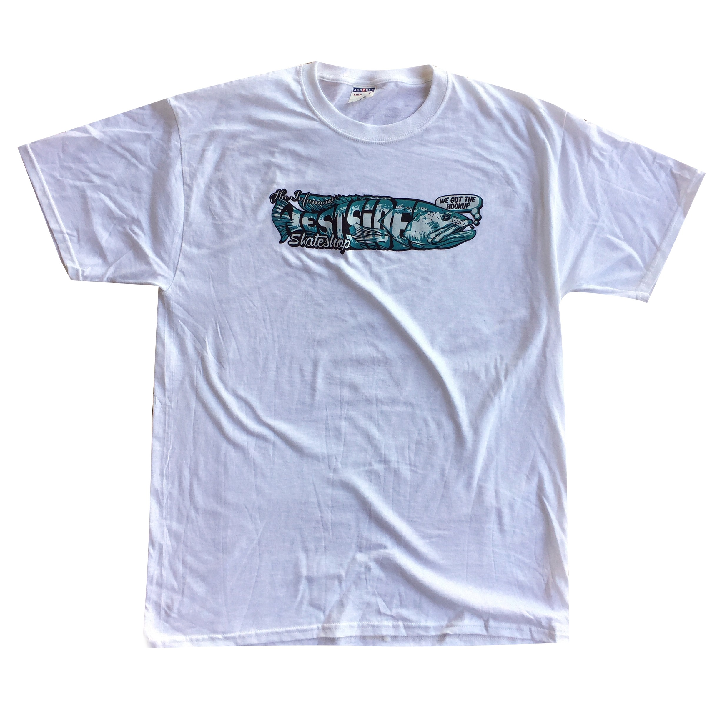 Westside Skate Shop Grouper Tee White