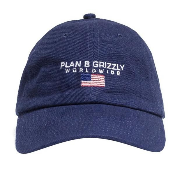 Grizzly Worldwide Hat Navy