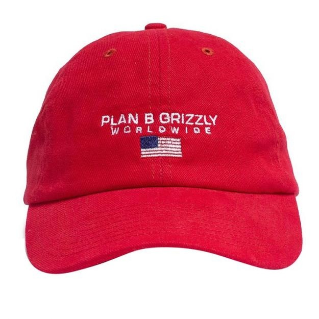 Grizzly Worldwide Hat Red