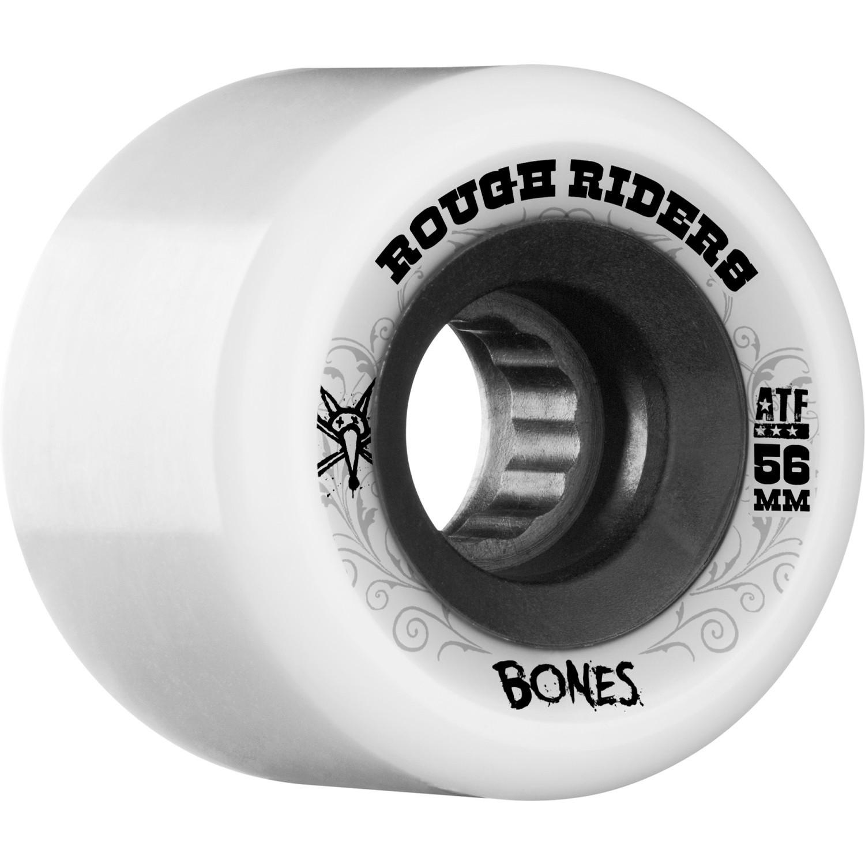 Bones Rough Riders ATF Wheels (White)