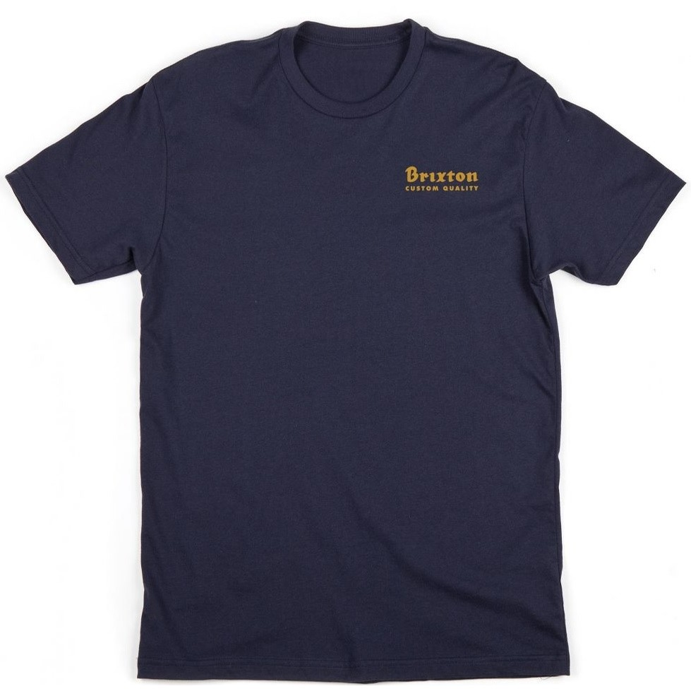 Brixton Crowich S/S Tee (Navy)