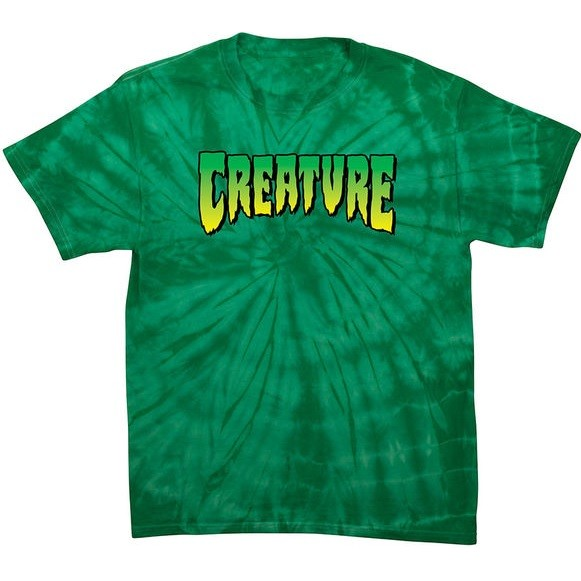Creature Creature Logo S/S Tee (Spider Kelly)
