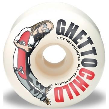 Ghetto Child Herman OG Wheels (White)
