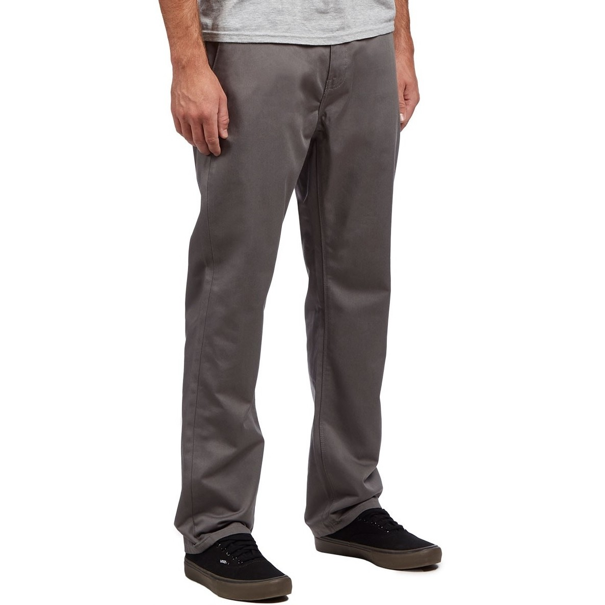 KR3W Klassic Rigid Chino Pant (Charcoal)