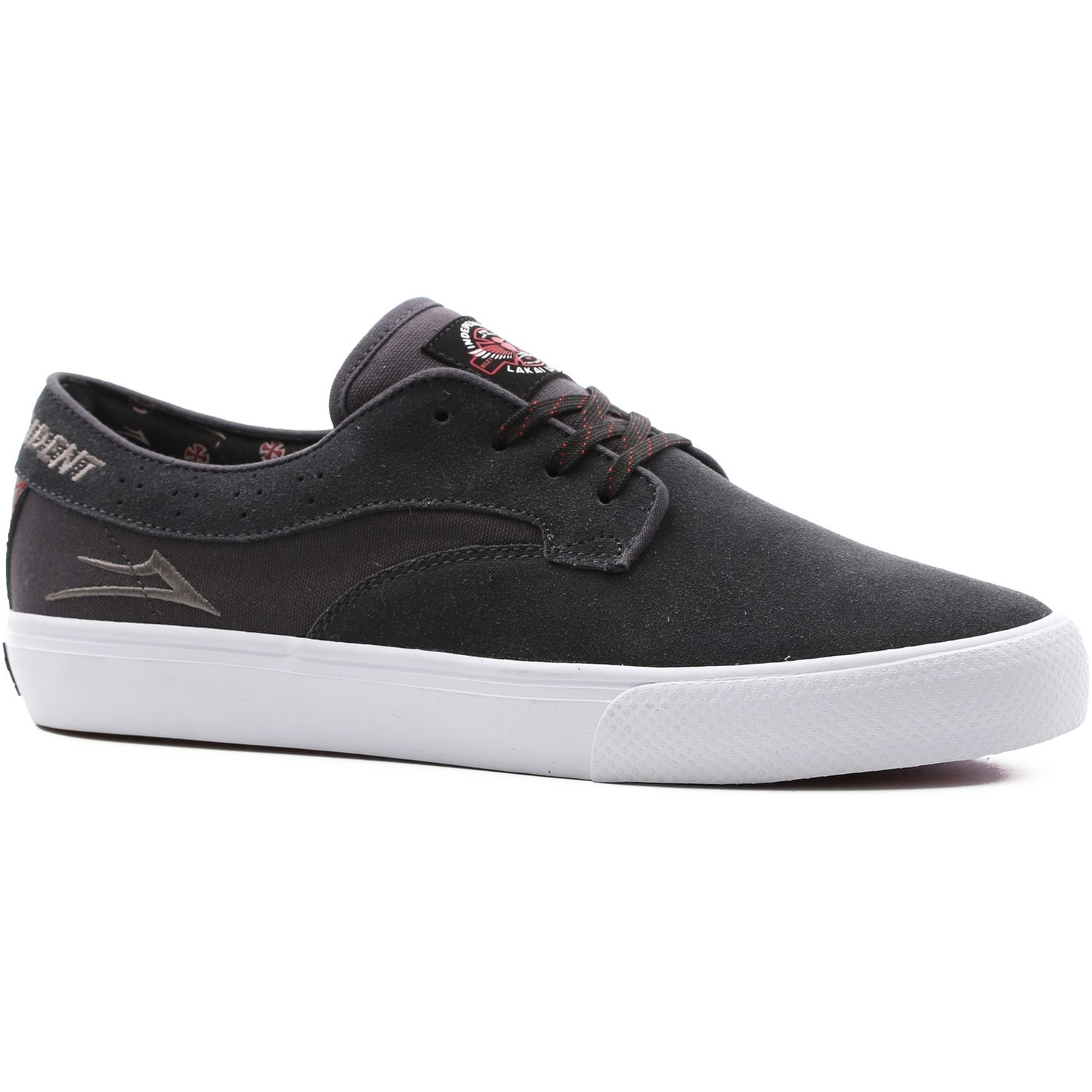 Lakai Riley Hawk X Indy Collab (Charcoal Suede)