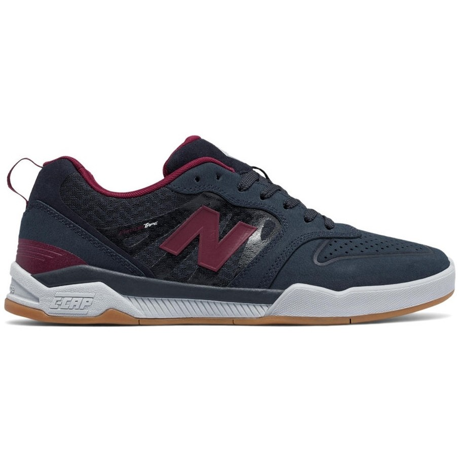 New Balance Numeric NB# 868 (Navy/Burgundy)