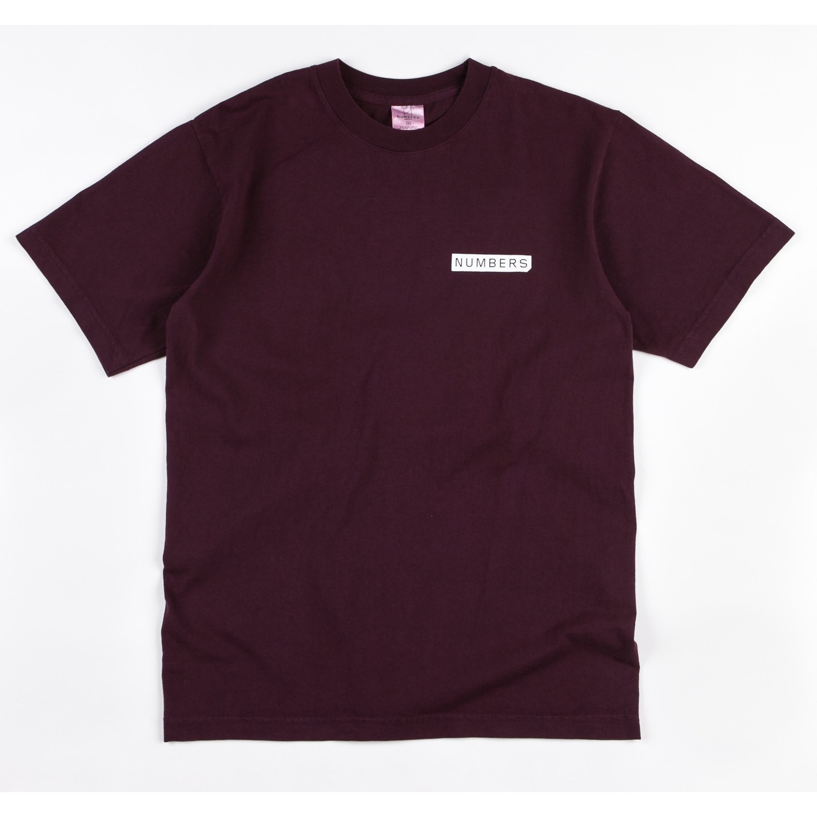 Numbers Edition Mitered Logotype T-Shirt (Port)