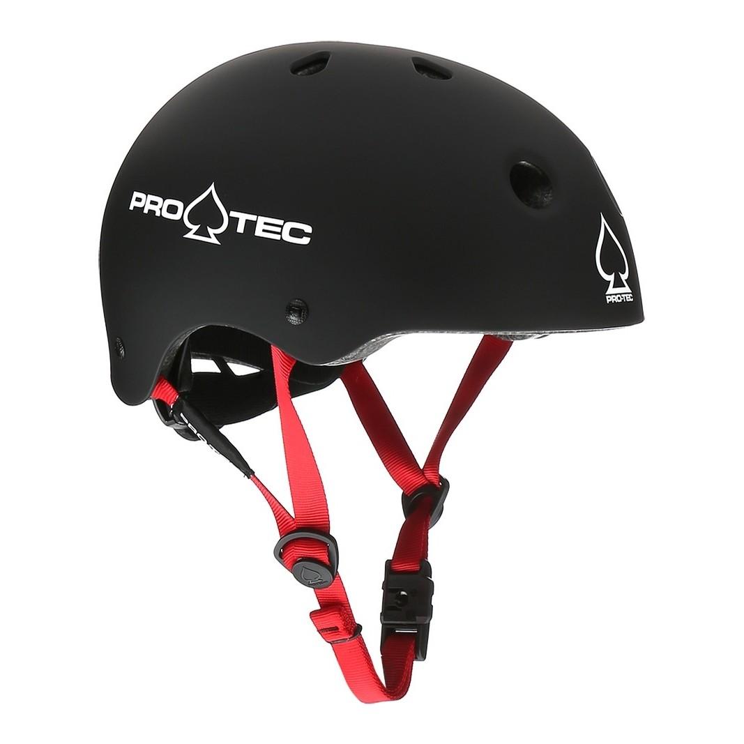 Pro Tec Jr. Classic Fit Certified Helmet (Matte Black)