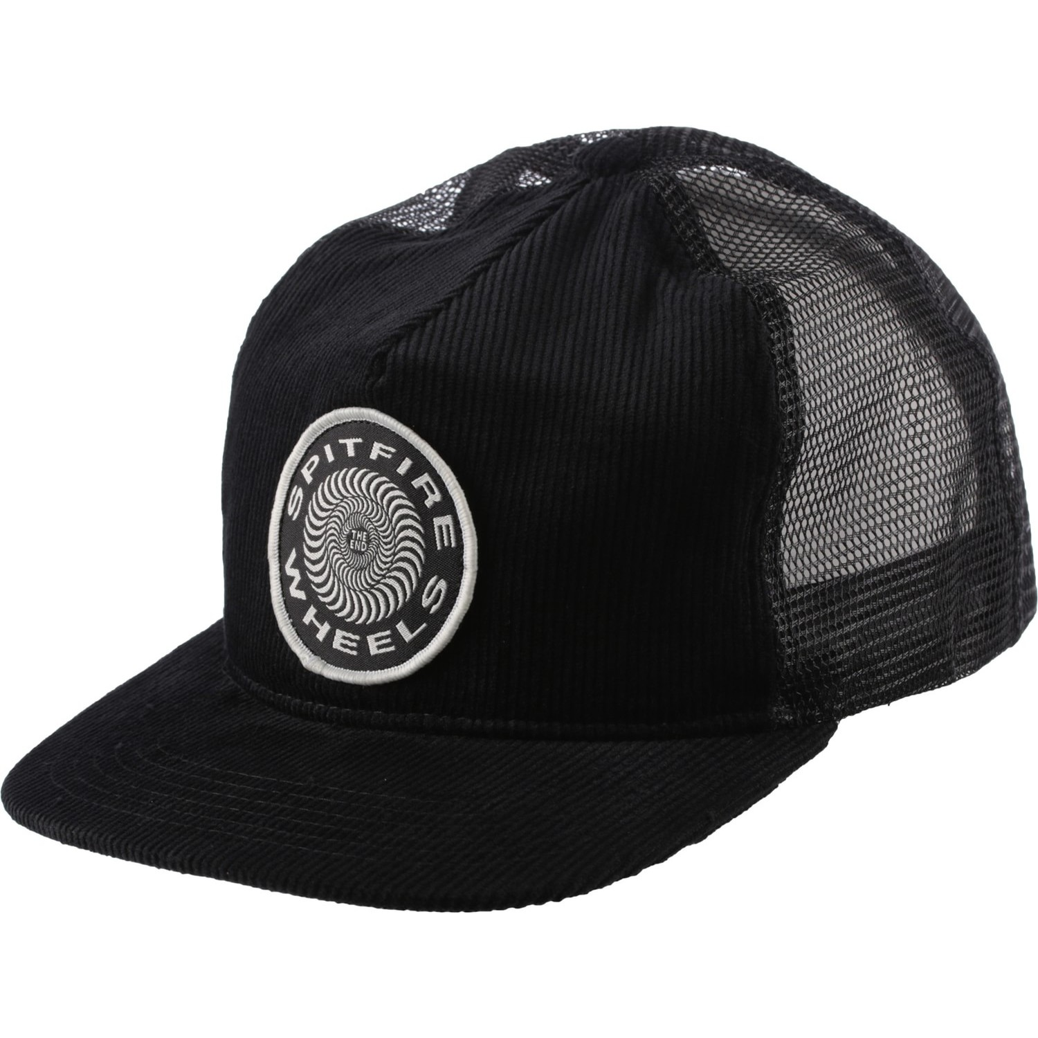 Spitfire OG Classic Patch Cord Trucker (Black)