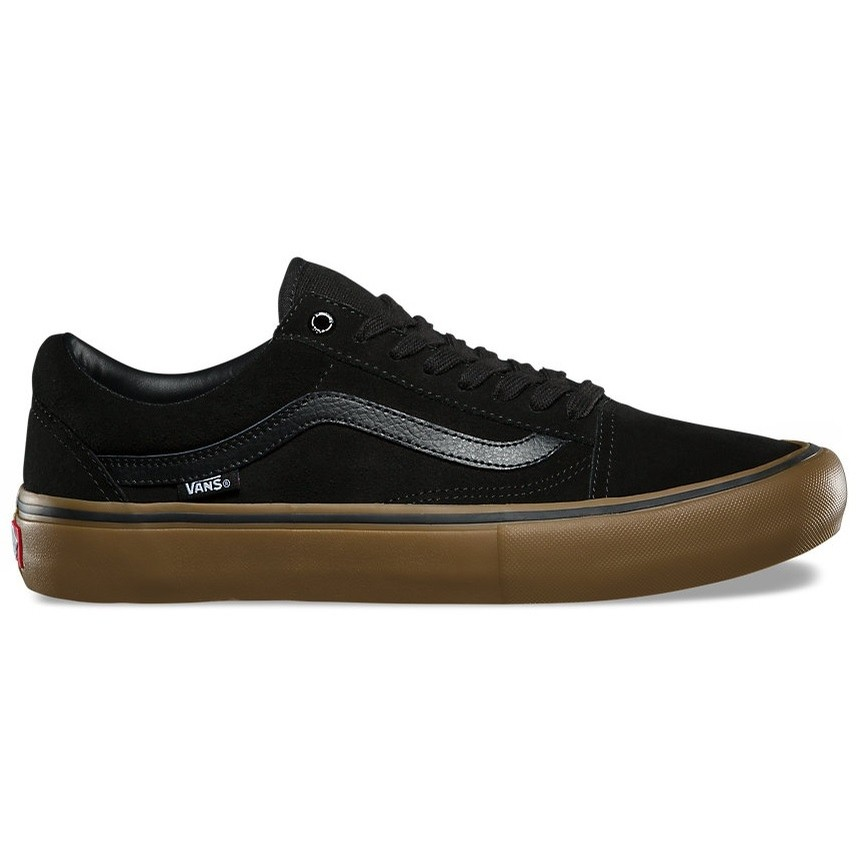 Vans Old Skool Pro (Black/Gum/Gum)