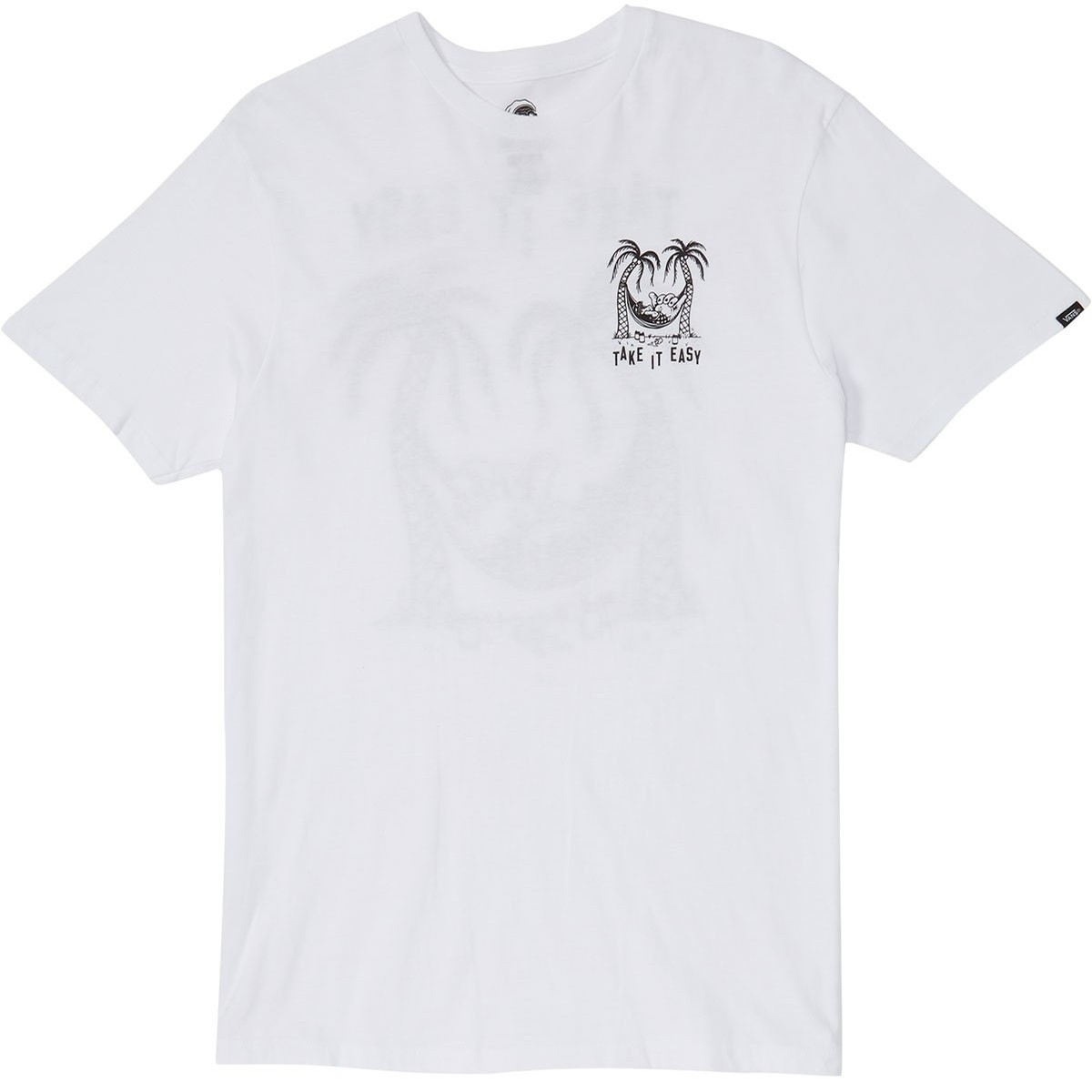 Vans Sketchy Couch Surf Tee (White)