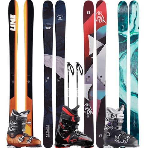 Demo Ski,Boot,Pole package